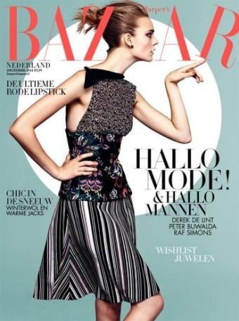 Harper's Bazaar NL Dec 2014