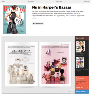 Perfume Families; Harper's Bazaar NL