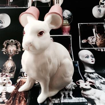 Giant Albino Rabbit 3D printed