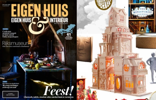Mimi Berlin's DreamHome?Boudoir in EH&I magazine, December 2015