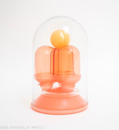Hoops: Toy (mixed media; glass, hard plastic, celluloid)